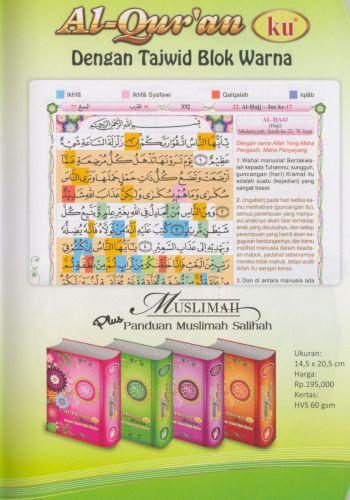 AlQuranKu Muslimah Hard Cover-k