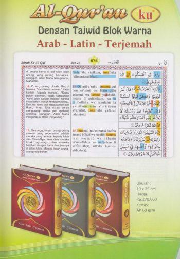 AlQuranKu Arab Latin Terjemah-3B-k